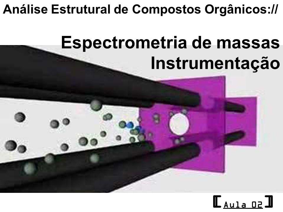 [Aula 02] Espectrometria de massas Instrumentação